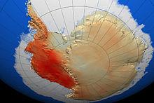 Tendência de aquecimento entre 1957 - 2006