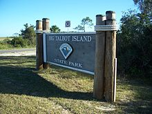 Big Talbot Island SP sign01.jpg