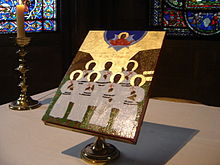 Icon of the Melanesian Martyrs at Canterbury Cathedral