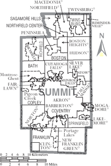 Map of Summit County Ohio With Municipal and Township Labels.PNG