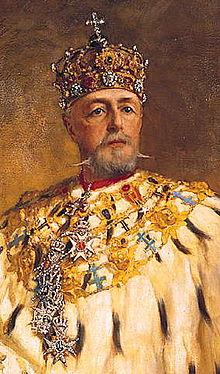 Oscar II of Sweden painted by Oscar Björck.jpg