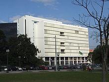 Tribunal de Justiça do Estado do Paraná, sede do poder judiciário paranaense.