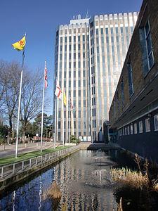 Civic Centre, Silver Street, Enfield - geograph.org.uk - 1691861.jpg