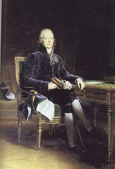 Talleyrand ritratto da François Gérard