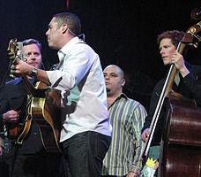 Barenaked Ladies v roce 2008: Kevin Hearn, Ed Robertson, Tyler Stewart a Jim Creeggan