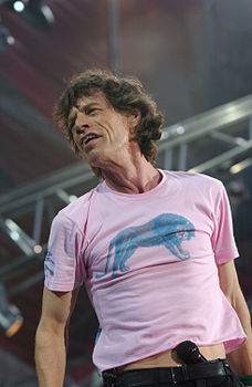 Mick Jagger dal vivo nel 2003 a Milano