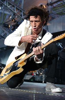 Keith Richards a Milano, nel 2003