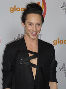 Johnny Weir bei den GLAAD Media Awards 2010
