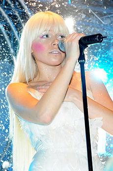 Kerli în concert (31 aug. 2008).