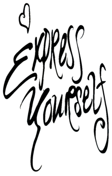 Logo del disco Express Yourself