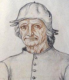 Domnělý portrét Hieronyma Bosche (kolem roku 1516[1])
