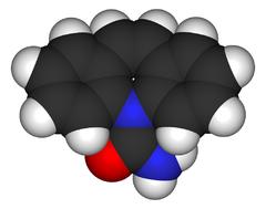 modello molecolare della carbamazepina