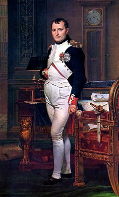 Napoleon I. ve své pracovně