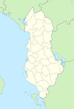 Gjirokastër está localizado em: Albânia