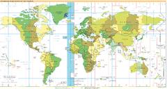 Localizzazione del fuso UTC−1