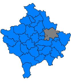Poziția localității PristinaPrishtina / PrishtinëПриштина / Priștina