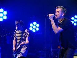 I Blur in concerto nel 2009.