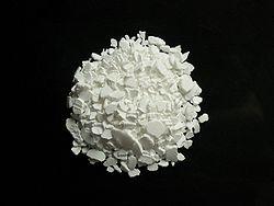 Scaglie di cloruro di calcio