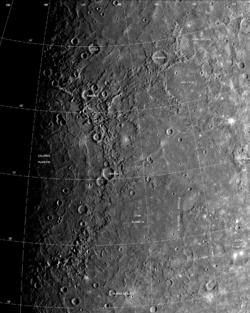 Caloris basin labeled.png
