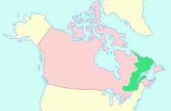 下加拿大位置
