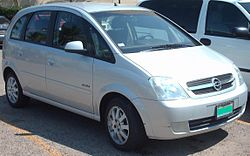 Opel Meriva.