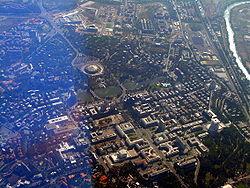Foto aerea del quartiere (agosto 2007)