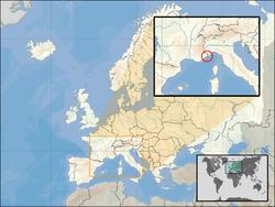 Monaco - Localizzazione