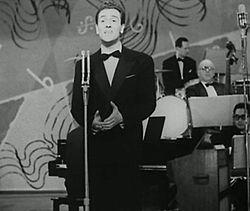 Gianni Marzocchi a Sanremo nel 1956