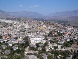 Vista de Gjirokastër