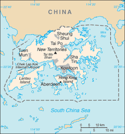 Hong Kong - Mappa
