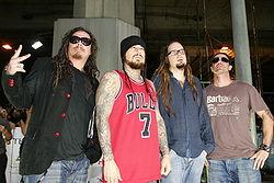 I Korn agli MTV Asia Awards 2006.