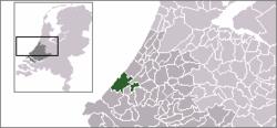 Haag na mapě