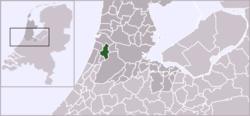Haarlem na mapě