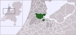 Amsterdam na mapě