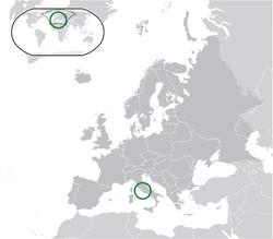 Città del Vaticano - Localizzazione