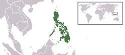 菲律賓位置图