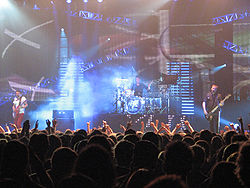 I Muse in concerto nel 2007.