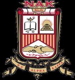 The official emblem of Nu Alpha Kappa Fraternity, Inc.