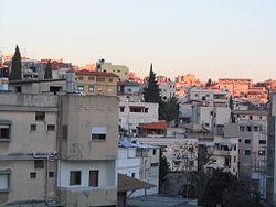 Pohled na centrum Nazaretu