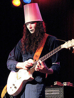 Buckethead in concerto nel 2008