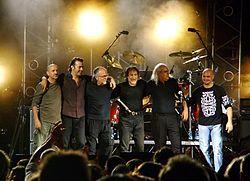 La PFM in concerto a Lignano Sabbiadoro nel 2007.