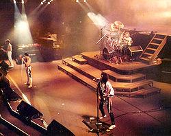 I Queen in concerto nel 1984