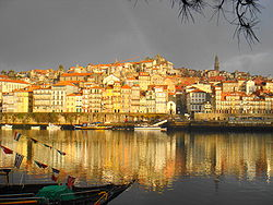 Řeka Douro a Ribeira do Porto