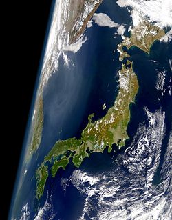 Mapa do Japão