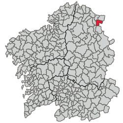 Trabada – Mappa
