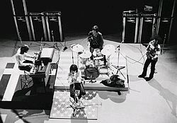 La band nel 1968