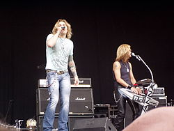 I White Lion live nel 2007