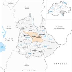 Bellinzona – Mappa