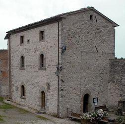 Palazzo Clusini, sede del Museo michelangiolesco