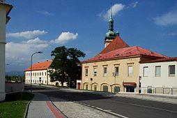 Jediná dochovaná ulice Starého Mostu